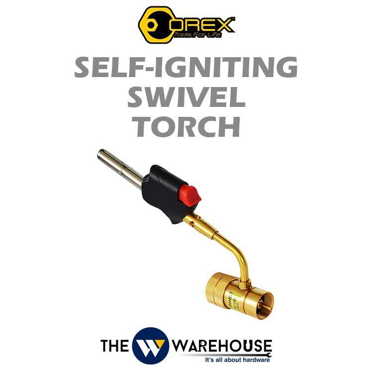 Orex Self-Igniting Swivel Torch 8390