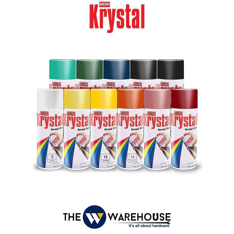 Krstal Spray Paint