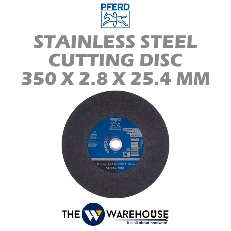 PFERD Stainless Steel Cutting Disc 350mm x 2.8mm