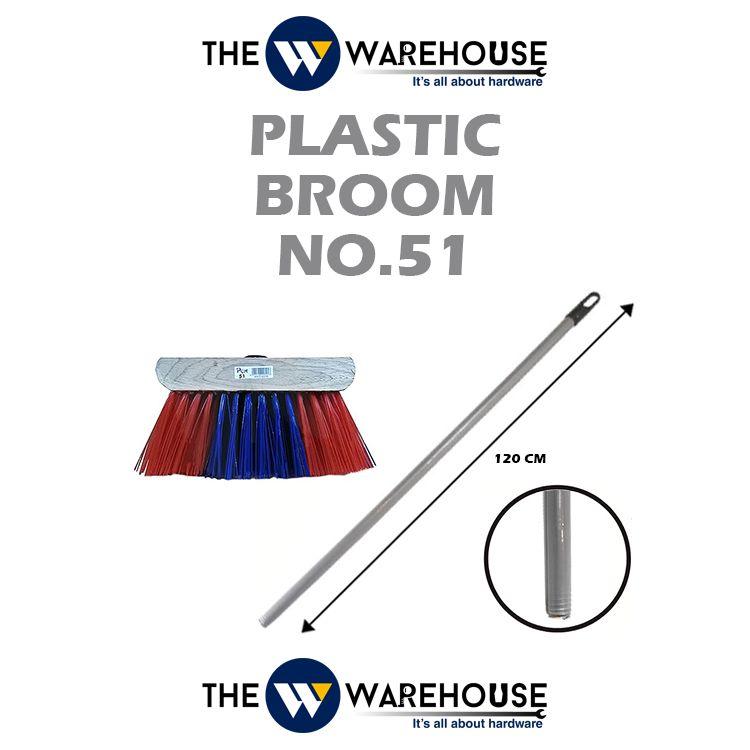 Plastic Broom No.51