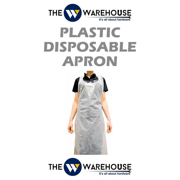 Plastic Disposable Apron-white