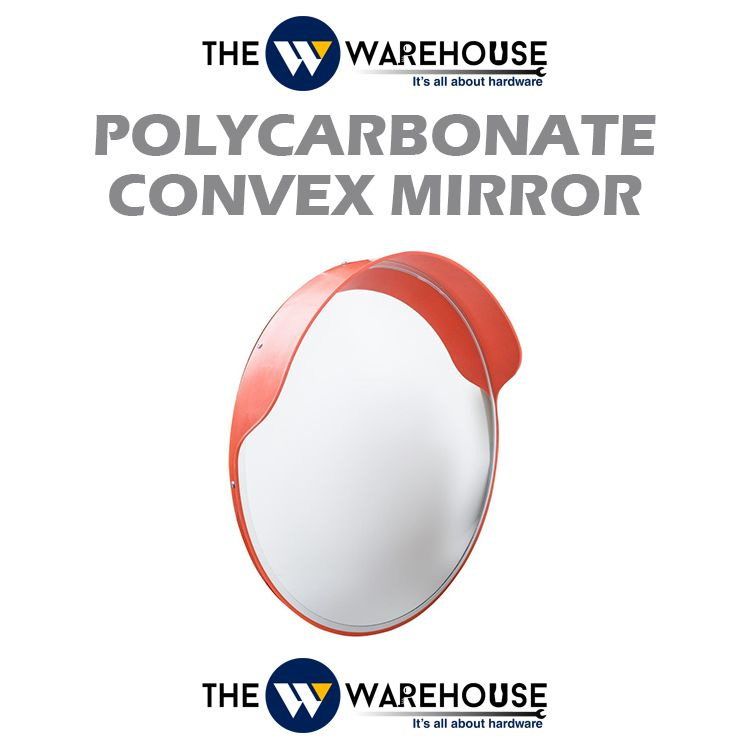 Polycarbonate Convex Mirror