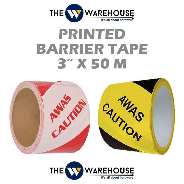 Printed Barrier Tape