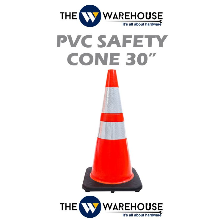 PVC Safety Cone 30 inch