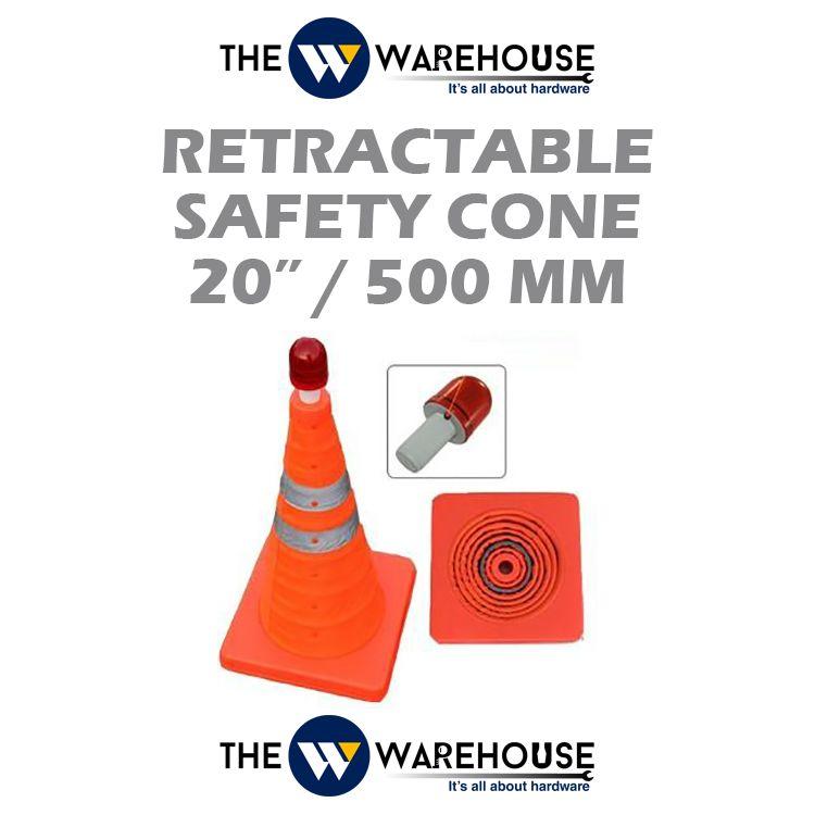 Retractable Safety Cone 20 inch