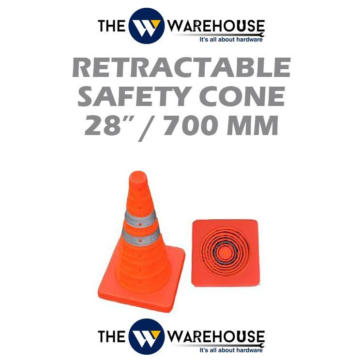 Retractable Safety Cone 28 inch