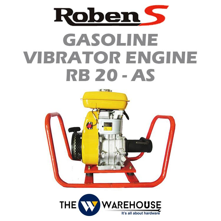 Roben-S Gasoline Vibrator Engine RB20-AS