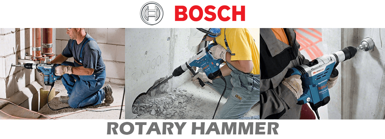 Rotary Hammers with SDS-Plus