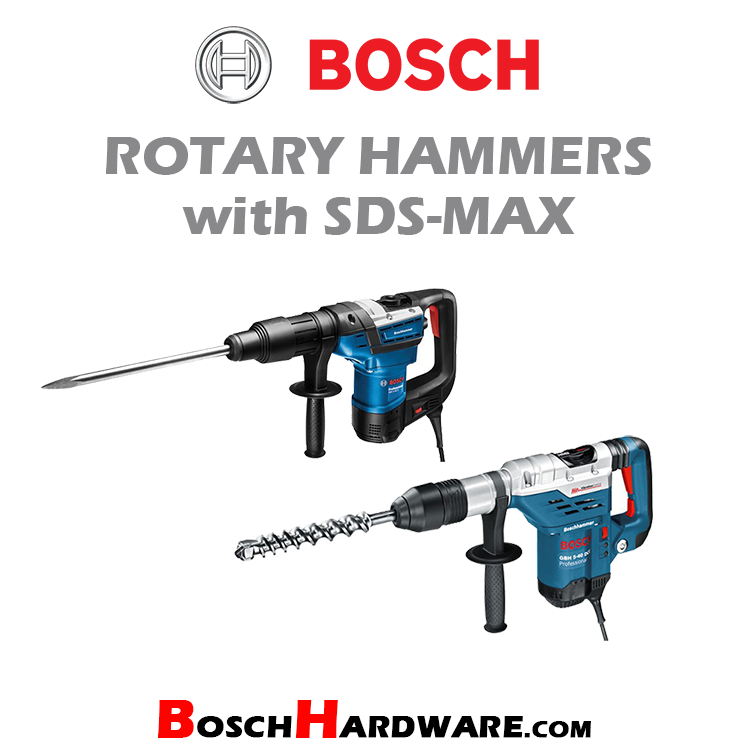 Rotary Hammers with SDS-Max