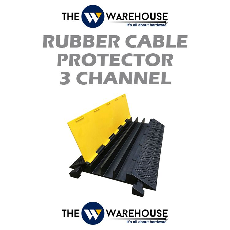 Rubber Cable Protector 3 Channel