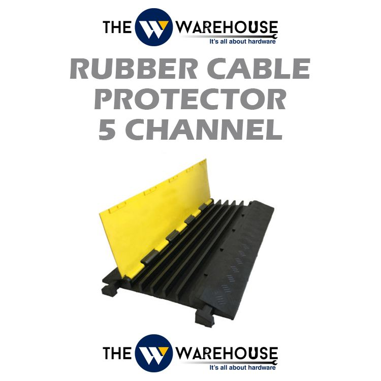 Rubber Cable Protector 5 Channel