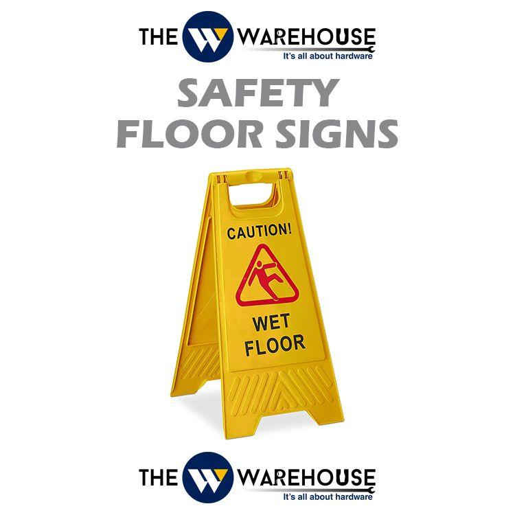 Safety Floor Signs - Wet Floor