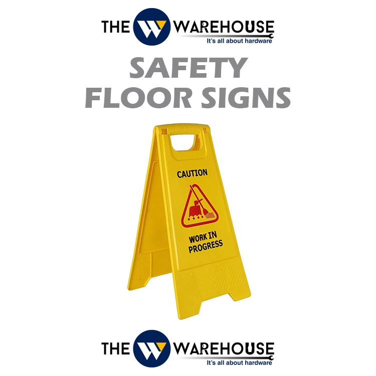 Safety Floor Signs - Work In Progress