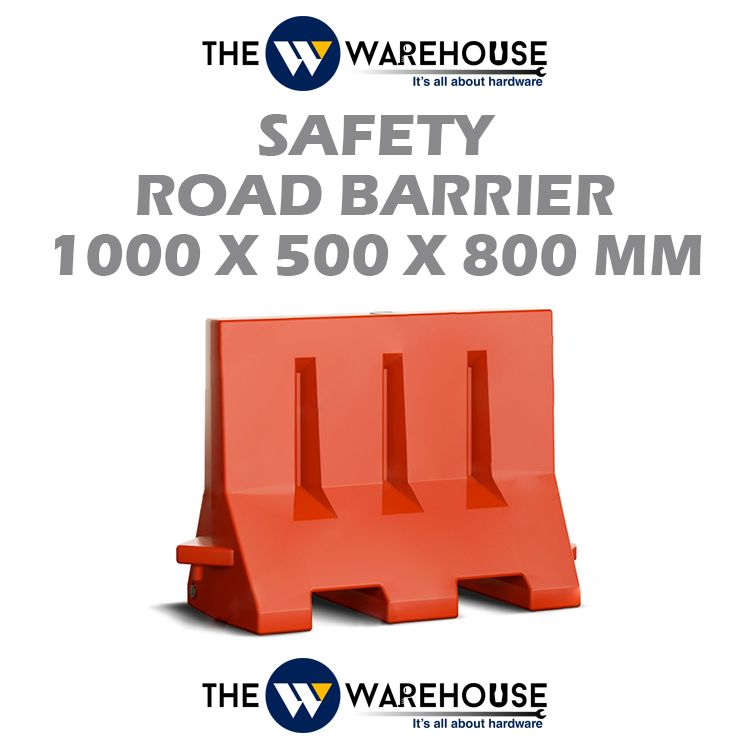 Safety Road Barrier 1000x500x800mm