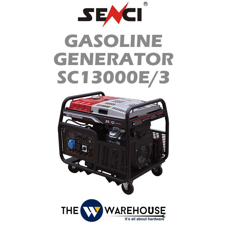 SENCI Gasoline Generator SC13000E/3