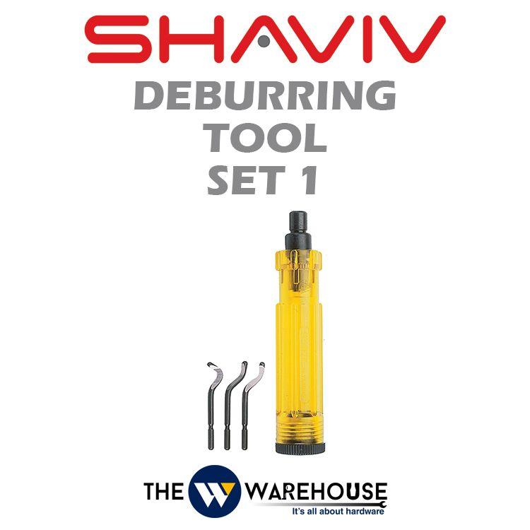 Shaviv Deburring Tool Set 1