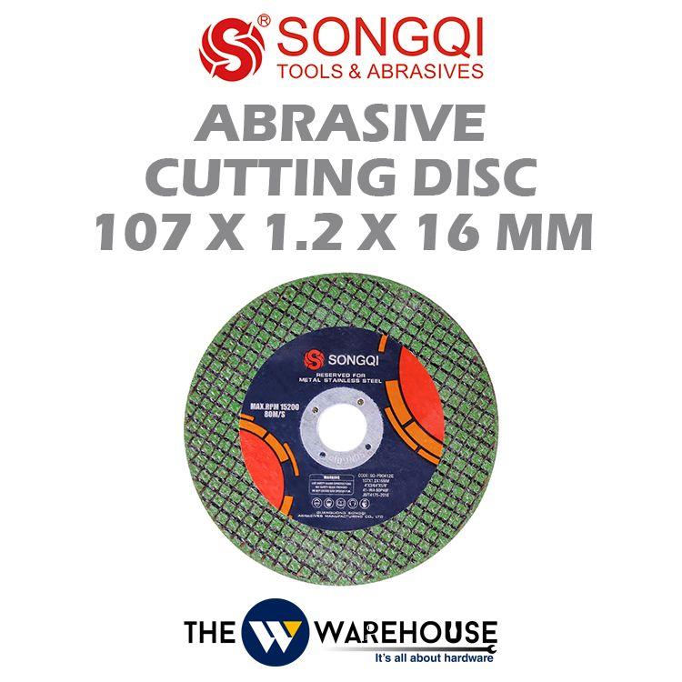 Songqi 4 inch Abrasive Cutting Disc