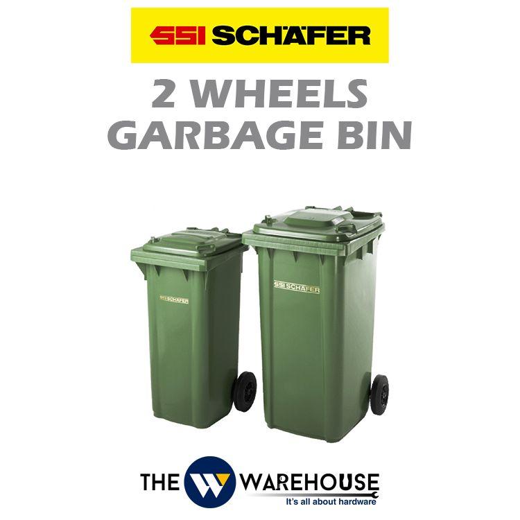 SSI Schafer 2 Wheels Garbage Bin