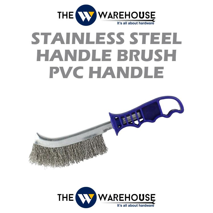 Stainless Steel Handle Brush - pvc handle