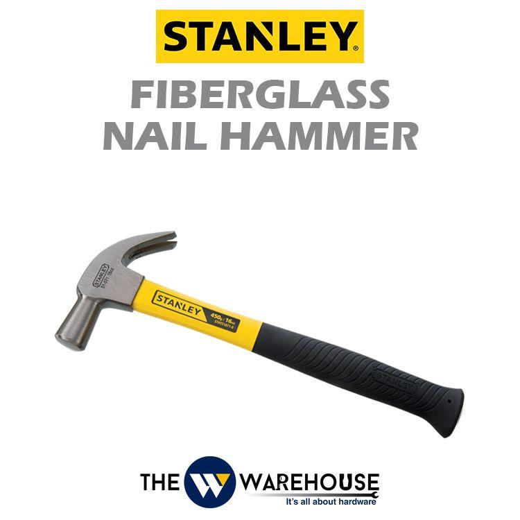 Stanley Fiberglass Nail Hammer 51-071