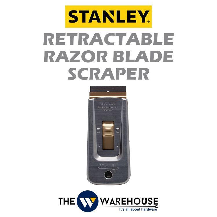 Stanley Retractable Razor Blade Scraper 28-500