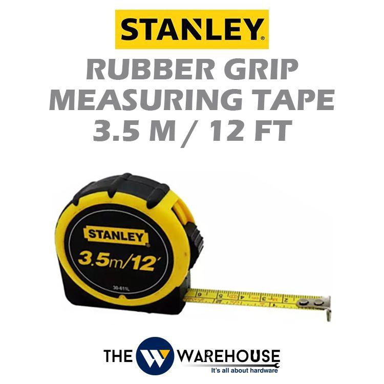 Stanley Rubber Grip Measuring Tape 30-611L