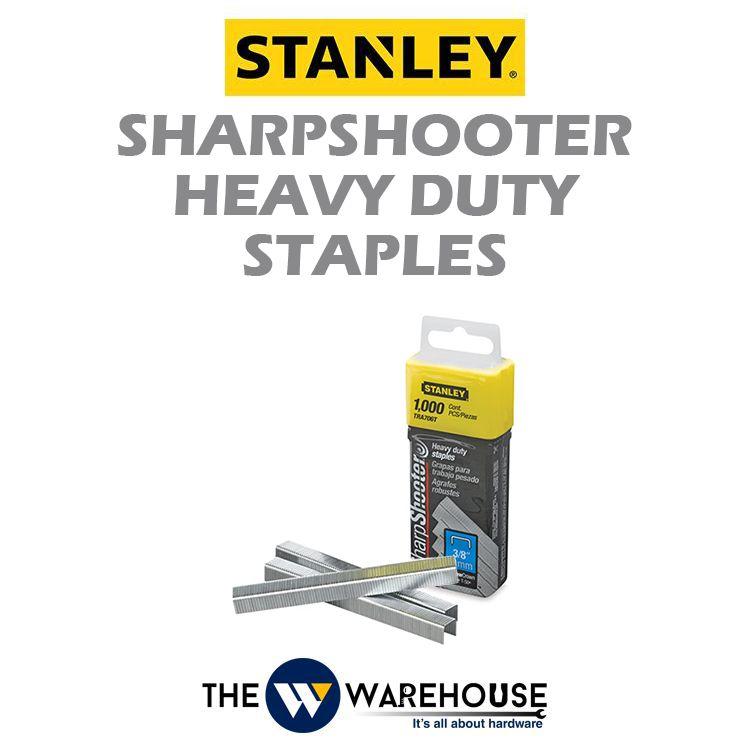 Stanley SharpShooter Heavy Duty Staples