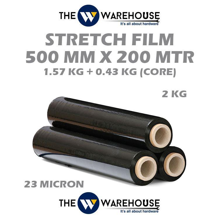 Stretch Film Black 500 mm