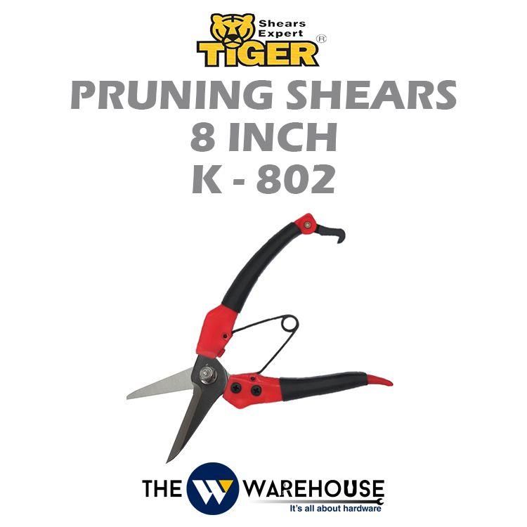Tiger Pruning Shear K-802