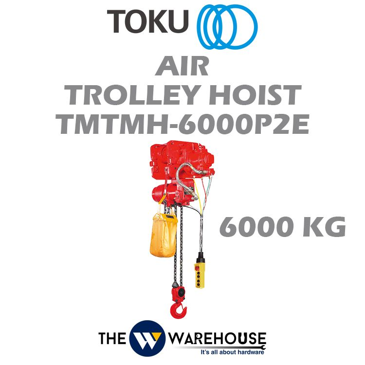 Toku Air Trolley Hoist TMTMH-6000P2E