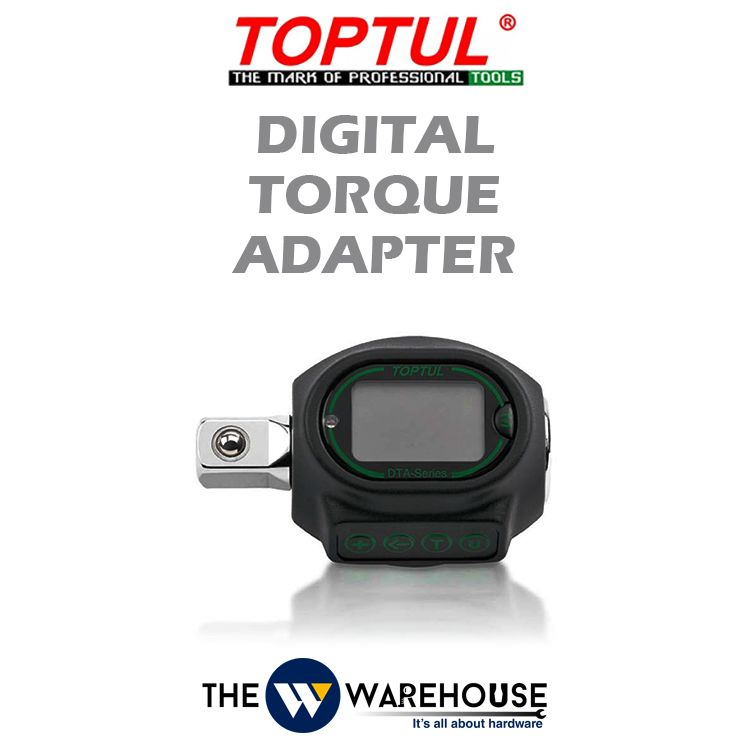 TOPTUL Digital Torque Adapter
