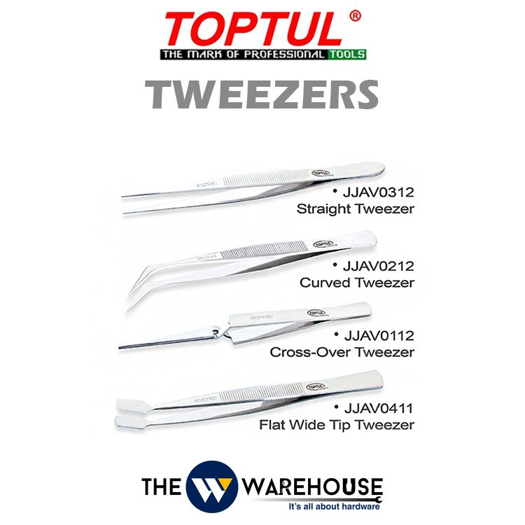 TOPTUL Tweezers - JJAV Series