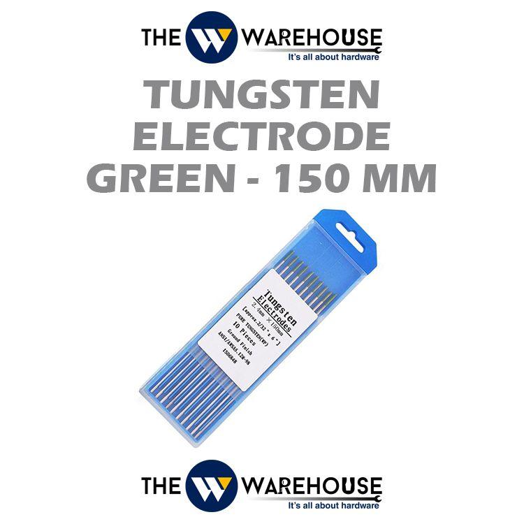 Tungsten Electrode - Green 150mm
