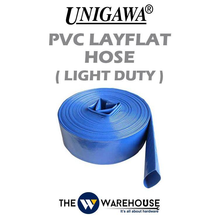 Unigawa PVC Layflat Hose - Light Duty (Sunny Hose)