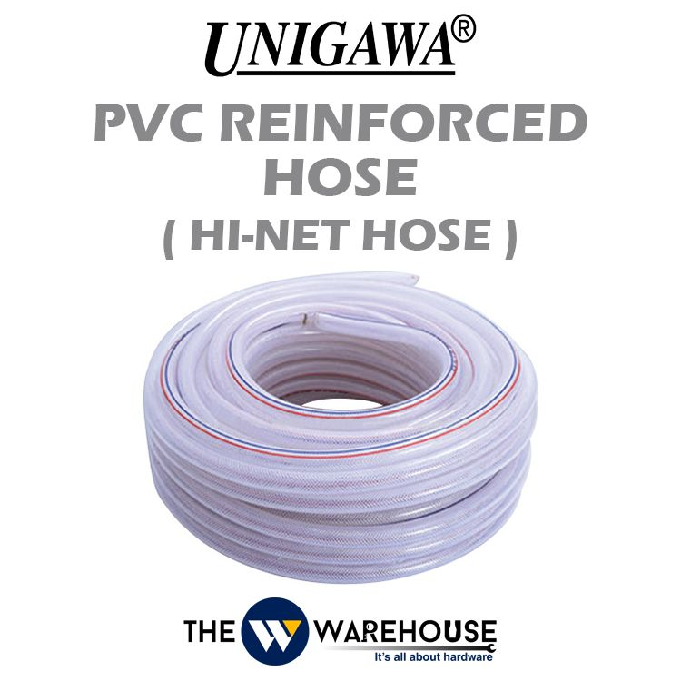Unigawa PVC Reinforced Hose (Hi-net Hose)