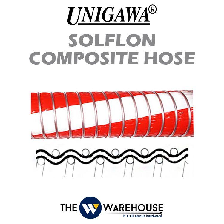 Unigawa Solflon Composite Hose