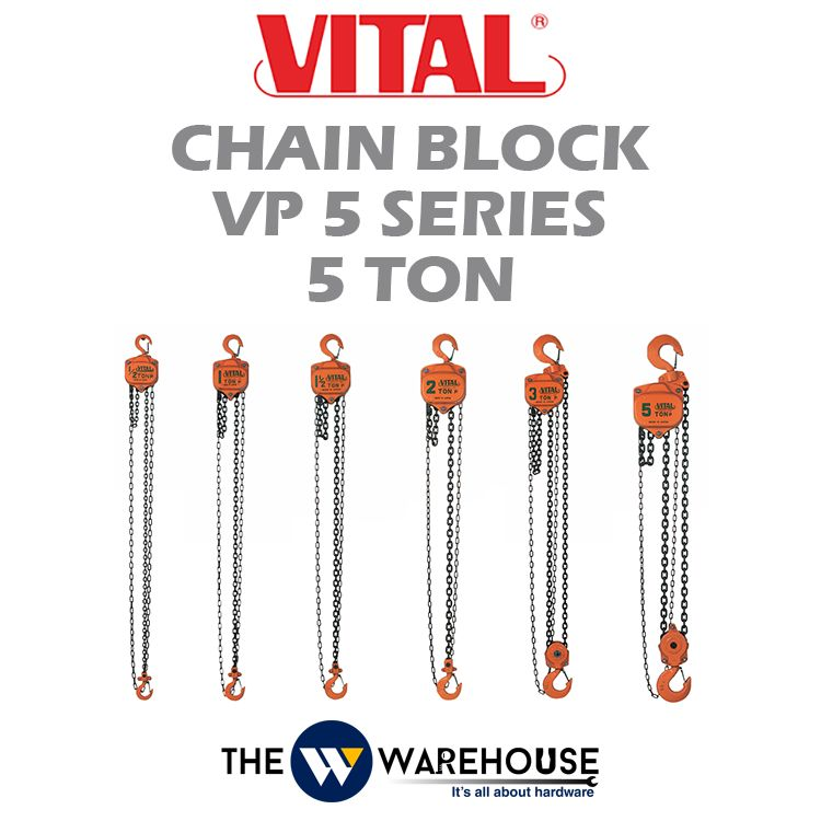 Vital Chain Block VP5 Series 5 ton