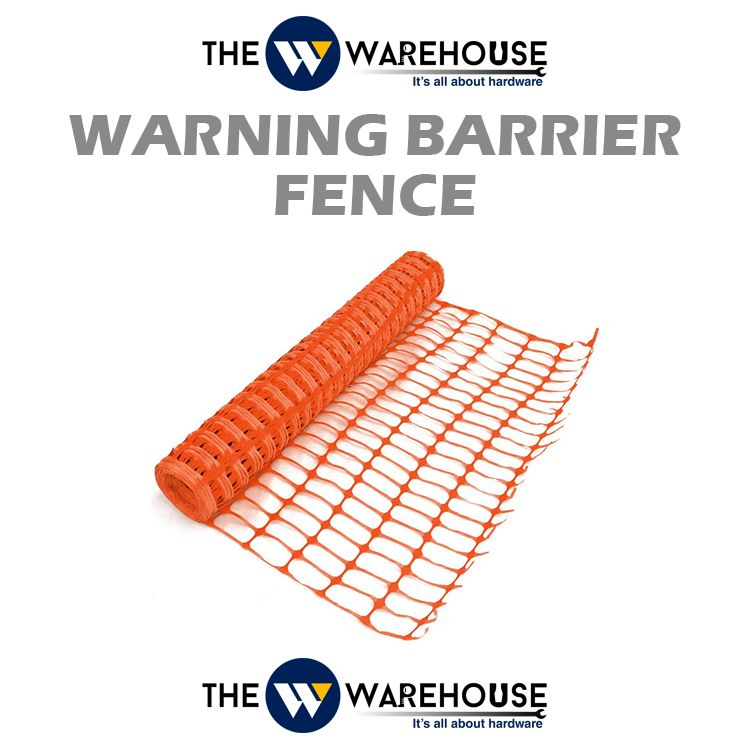 Warning Barrier Fence