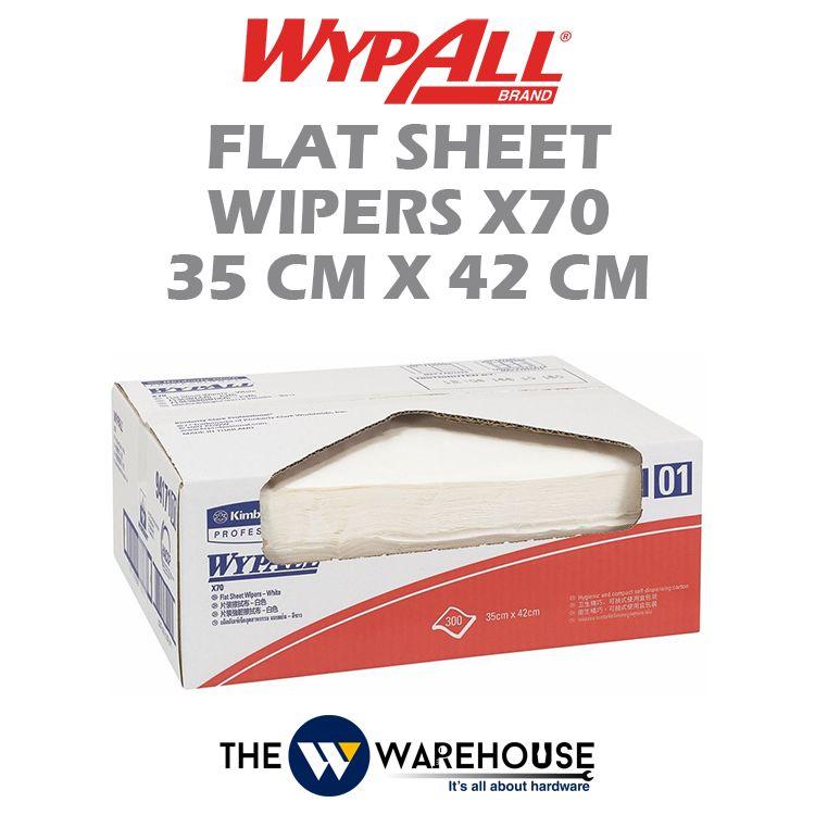 WypAll X70 Flat Sheet Wipers 35cm x 42cm 94171