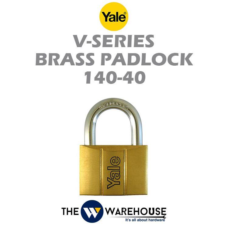 Yale Brass Padlock 140-40