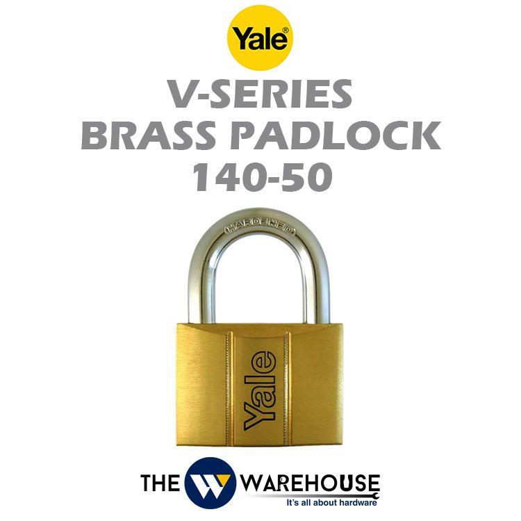 Yale Brass Padlock 140-50
